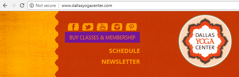dallas yoga center website